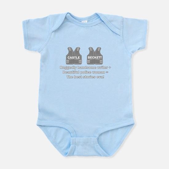 Castle and Beckett Infant Bodysuit