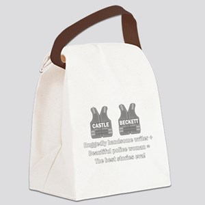 Castle and Beckett Canvas Lunch Bag