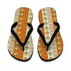 southwestern style Flip Flops
