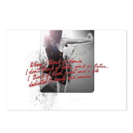 Dance and Passion Postcards (Package of 8)