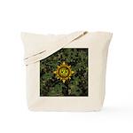 HFPACK Gold Insignia Woodland Camo Tote Bag