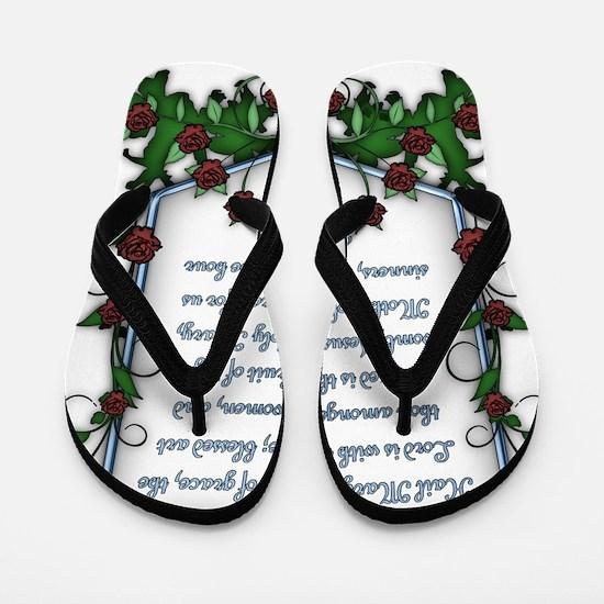 Hail Mary Flip Flops