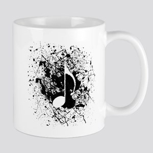 Music Splatter Mug
