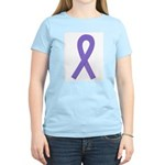 Violet Awareness Ribbon Women's Light T-Shirt