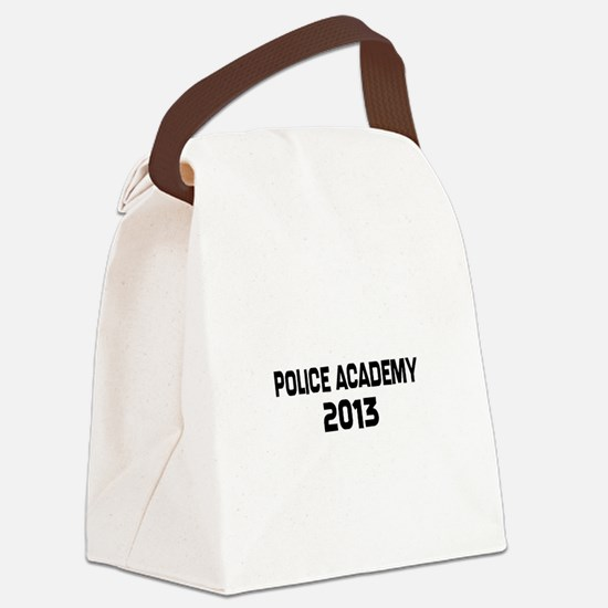 2013 Police Academy Grad Canvas Lunch Bag