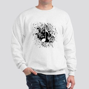 Music Splatter Sweatshirt