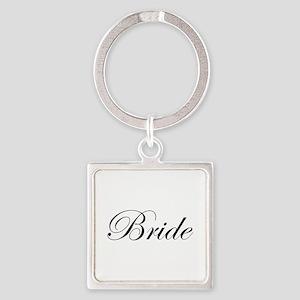 Bride's Square Keychain