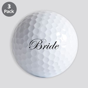 Bride's Golf Balls