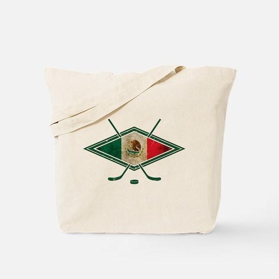 Hockey Sobre Hielo Mexico Tote Bag