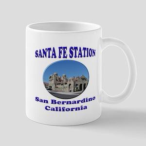 San Bernardino Train Station Mug