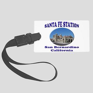San Bernardino Train Station Luggage Tag