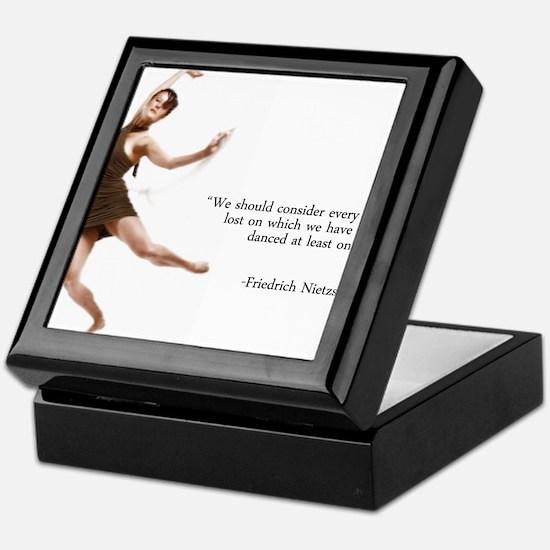 Dance Every Day Keepsake Box