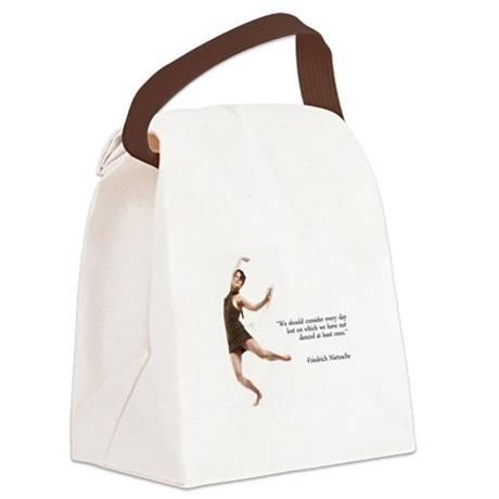 Dust... Fib Sequence Canvas Lunch Bag