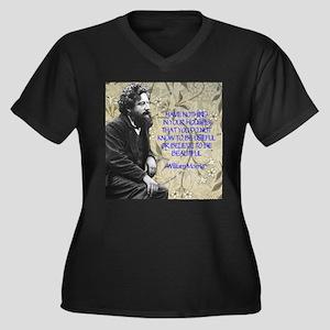 William Morris Quotation Plus Size T-Shirt