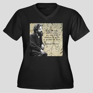 William Morris Art Quote Plus Size T-Shirt