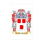 Broadhay Sticker (Rectangle 10 pk)