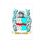 Broadbent Sticker (Rectangle 50 pk)