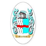 Broadbent Sticker (Oval 10 pk)