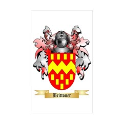 Brittoner Sticker (Rectangle 50 pk)