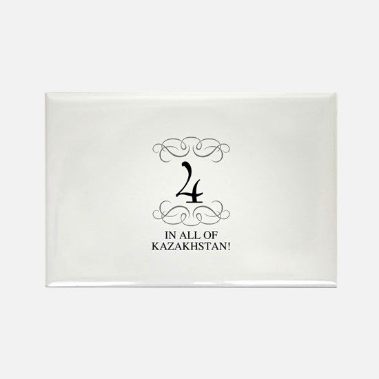 FOUR IN ALL OF KAZAKHSTAN Rectangle Magnet