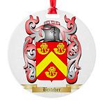Britcher Round Ornament