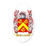 Britcher Oval Car Magnet