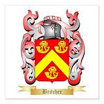 Britcher Square Car Magnet 3