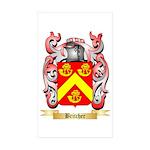 Britcher Sticker (Rectangle 50 pk)