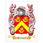 Britcher Small Poster