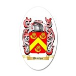 Britcher 20x12 Oval Wall Decal