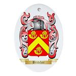 Britcher Ornament (Oval)