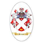 Brison Sticker (Oval 50 pk)