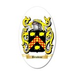 Brisbine 35x21 Oval Wall Decal