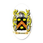 Brisbane Oval Car Magnet