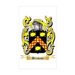 Brisbane Sticker (Rectangle 50 pk)