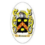 Brisbane Sticker (Oval 10 pk)
