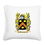 Brisbane Square Canvas Pillow