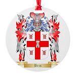 Bris Round Ornament