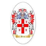 Bris Sticker (Oval 50 pk)