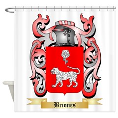 Briones Shower Curtain