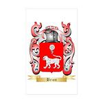 Brion Sticker (Rectangle 50 pk)