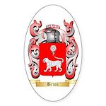 Brion Sticker (Oval 50 pk)