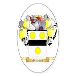 Brinson Sticker (Oval 10 pk)