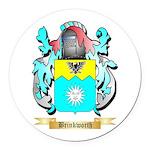 Brinkworth Round Car Magnet