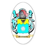 Brinkworth Sticker (Oval 50 pk)