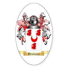 Brinkman Sticker (Oval 50 pk)