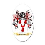 Brinkema 20x12 Oval Wall Decal