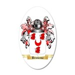 Brinkema 35x21 Oval Wall Decal