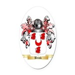 Brink Oval Car Magnet