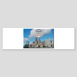 Boston Skyline Police Bumper Sticker